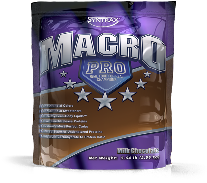 Syntrax® MacroPro™ Chocolate - Macronutrient Blend