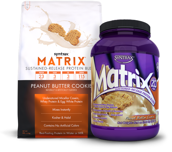 Syntrax® Matrix® Peanut Butter Cookie - Undenatured Whey Protein